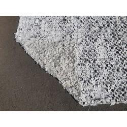 Filet de camouflage blanc renforcé