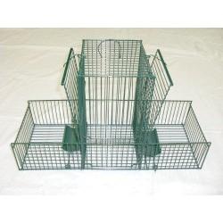 Cage Trébuchet Double