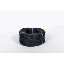 Cordage polypropylène câblé noir